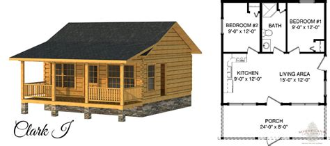 How Big Is 500 Square Feet by Tiny Houses Living Large Southland Log Homes