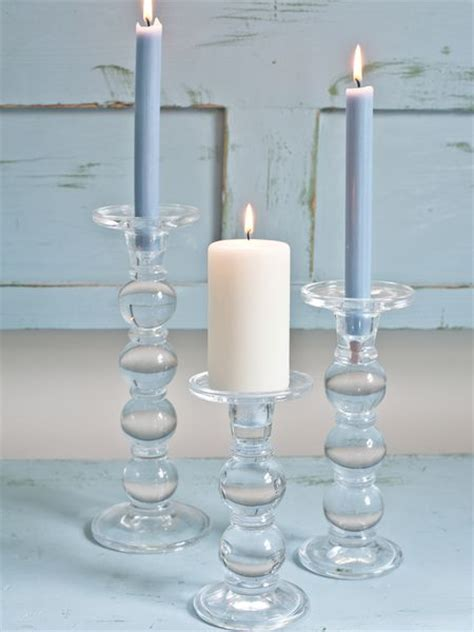 Glass Candle Stick Holders Floor Candle Holders Large Candlesticks Glass Candle