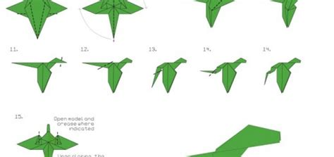 Easy Origami Dragons - how to make origami crane hairstyles
