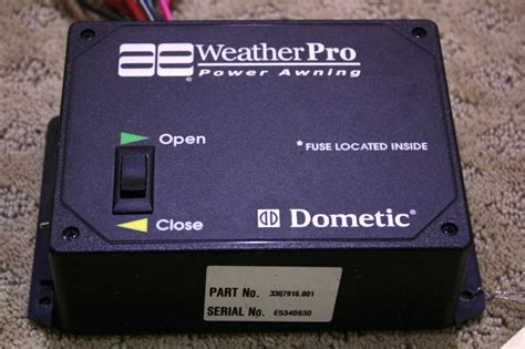 dometic weatherpro power awning rv accessories used rv dometic ae weather pro power awning control switch for sale rv