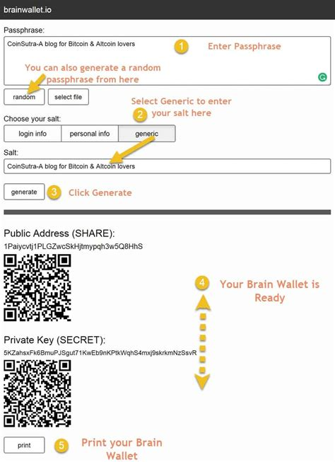 Bitcoin Brain Wallet Tutorial | what is a brain wallet how to create one for yourself