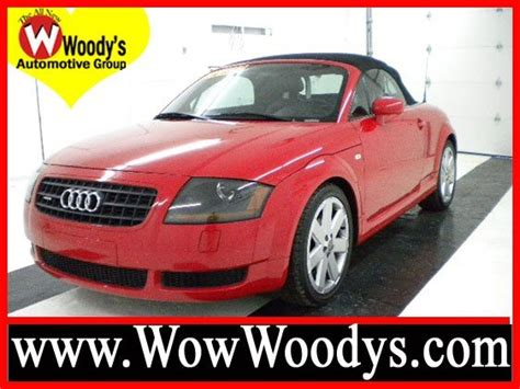 audi tt 2003 for sale 2003 audi tt for sale at woody s automotive in