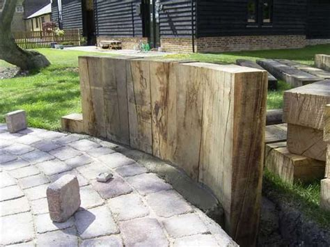 Landscaping Sleepers Railway Sleepers