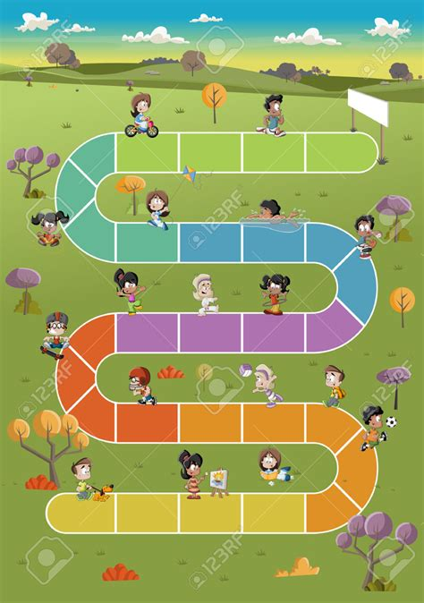 printable board game path game board path clipart clipground
