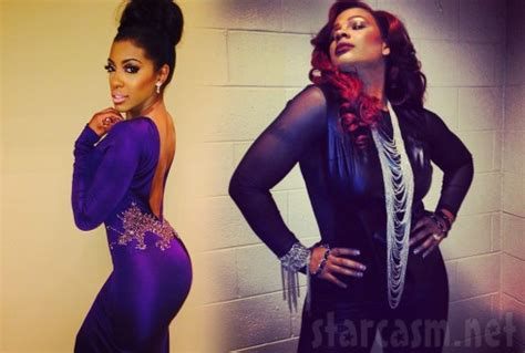 porsha williams throws massive shade at wendy williams the audio syleena johnson sings perfectly worthless