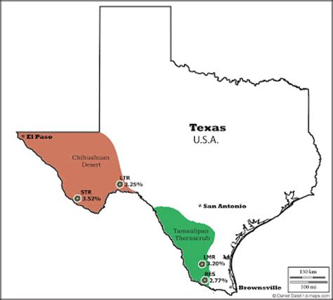 cactus texas map lophophora geographic distribution of peyote lophophora diversity and biogeography of