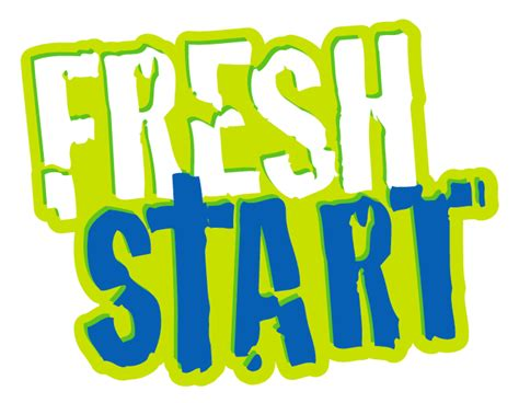 how to start fresh in fresh start logo marlow baptist church