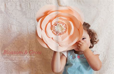 Handmade Paper Flowers Tutorial - diy friday handmade paper flowers in issue 17 utterly