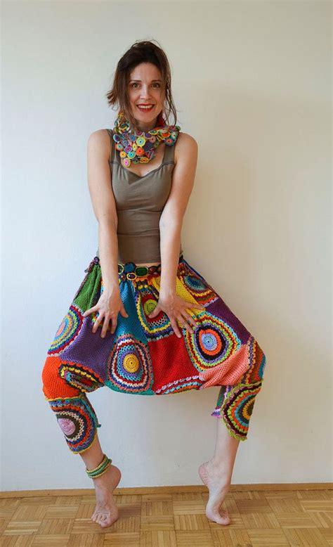 Harem Motif 12 1000 images about crochet on trousers