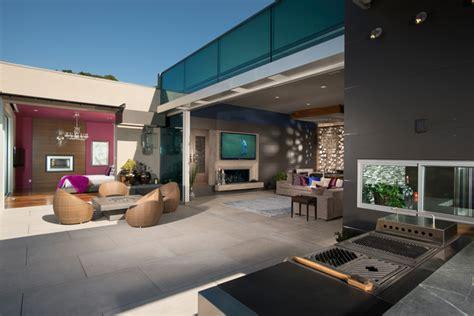 Maison D Architecte En Bois 2433 by Teresita Residence Contemporain Terrasse Et Patio