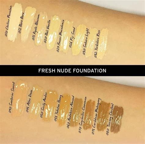 Bodyshop Foundation 76 best foundation swatches images on