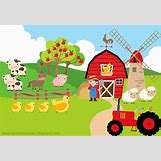 Cartoon Farm Scene | 1024 x 704 jpeg 112kB
