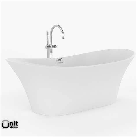 jacuzzi bathtub faucets jacuzzi infinito bathtub with floor standing faucet 3d