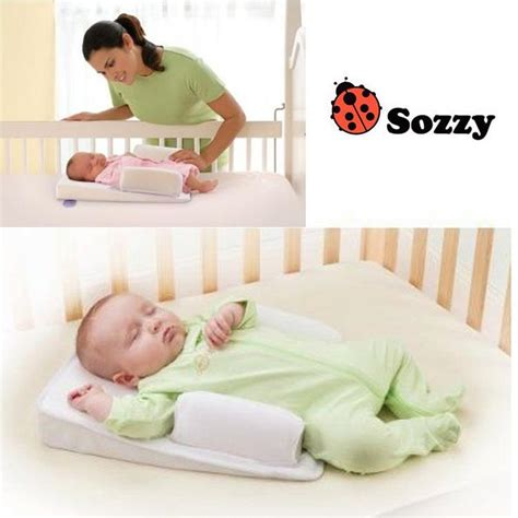 Toddler Pillows For Sleeping by Sozzy Anti Roll New Born Baby Pillow Baby Sleep Positioner