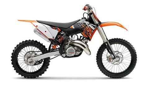 2009 Ktm 125sx 2009 Ktm 125 Sx Motorcycle Review Top Speed