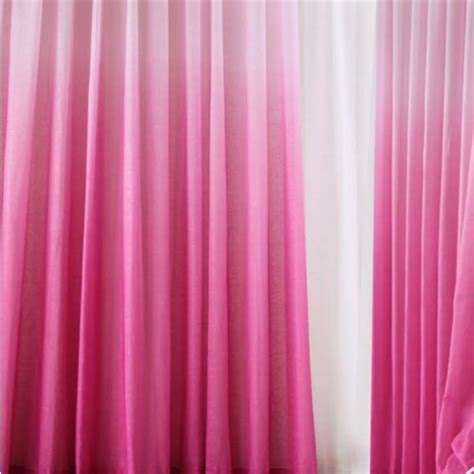 pink ombre curtains ombre gradient sheer curtain