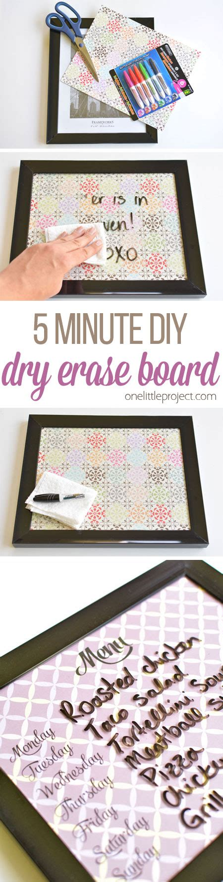 project whiteboard books 5 minute erase board easy diy whiteboards