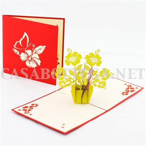 biglietti con fiori biglietto 3d kirigami fiori orchidea