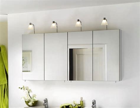 wide mirrored bathroom cabinet mirror design ideas concept important large mirrored