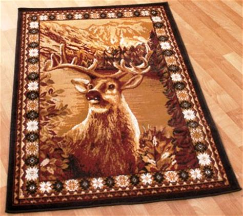 Deer Area Rugs Abc615079 1wlf Drr Deer Area Rug 39 X 59