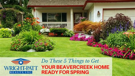 get your home ready for spring do these 5 things to get your beavercreek home ready for