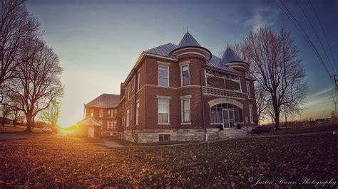 official website   randolph county asylum infirmary located  winchester indiana