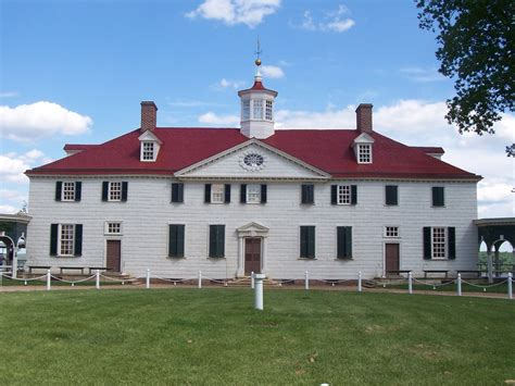 George Washingtons House by Panoramio Photo Of George Washington S Home Virginia