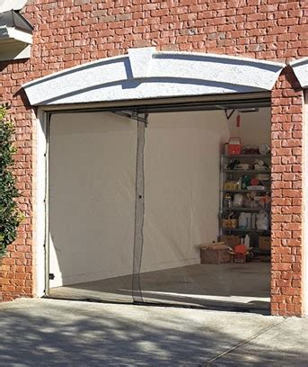 Garage Door Mosquito Net by New Garage Screen Door Single Or Bug Mosquito Net Netting Insect