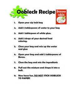 25 best ideas about oobleck recipe on pinterest