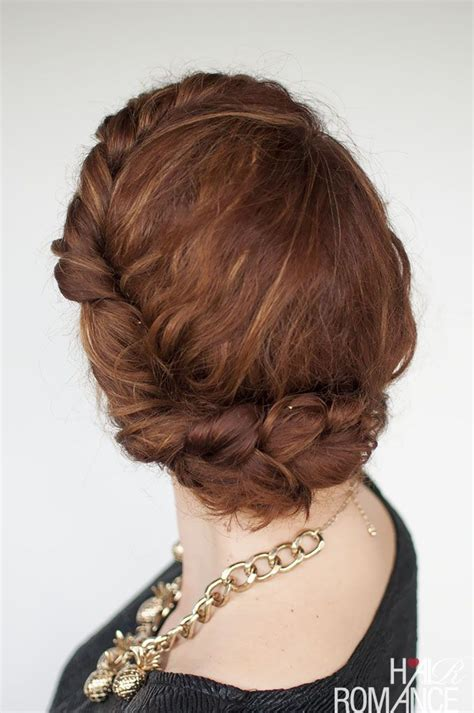 quick and easy romantic hairstyles hair romance quick everyday curly hair updo click