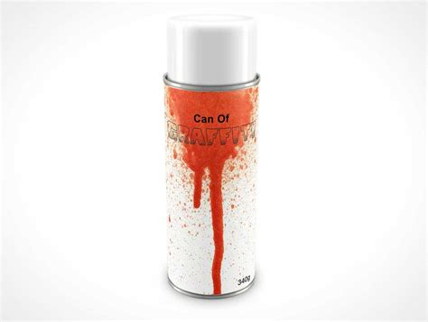 spray paint mockup spray can psd mockups