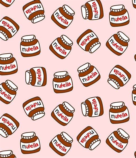 food pattern tumblr quot cute tumblr nutella pattern quot minir 246 cke von deathspell