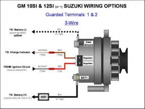 chevy 4 wire alternator wiring diagram get free image