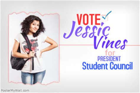 student council poster templates customizable design templates for student council