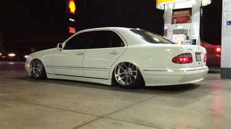 bagged mercedes wagon cats bagged e320 flexin