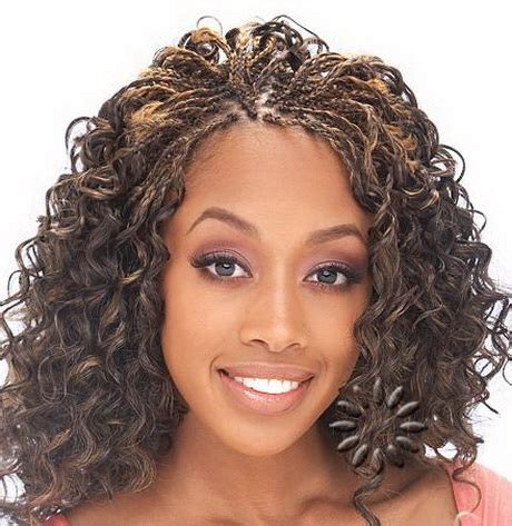 Curly Hairstyles With Braids by Curly Braids Hairstyles