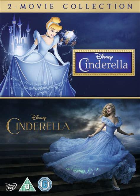 film cinderella kopen cinderella double pack dvd zavvi nl