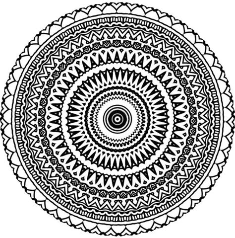 aztec pattern drawings tumblr aztec mandala zentangle doodle drawing by kathyahrens