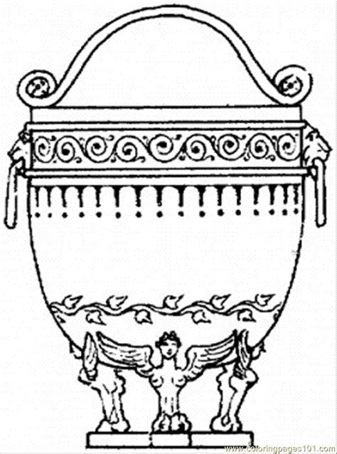Free Coloring Pages Of Ancient Greek Vase Ancient Greece Coloring Pages