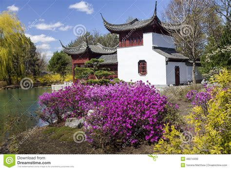 Montreal Botanical Gardens Cost Montreal Gardens Stock Image Image Of Pavilion China 48074499