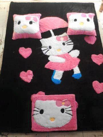 Karpet Rasfur Set 5 karpet bulu rasfur set karakter hellokitty po pre order 1