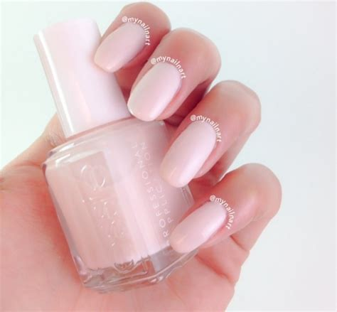 nail ballet slippers essie ballet slippers swatch by mynailnart nailpolis