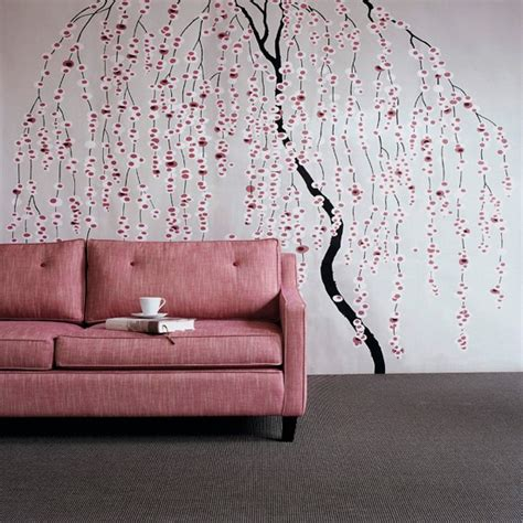 wallpaper for rooms floral stencil living room wallpaper ideas for living