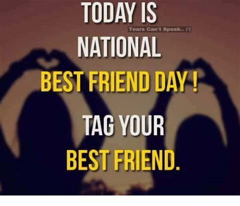 is today national day 25 best memes about best friends day best friends day memes