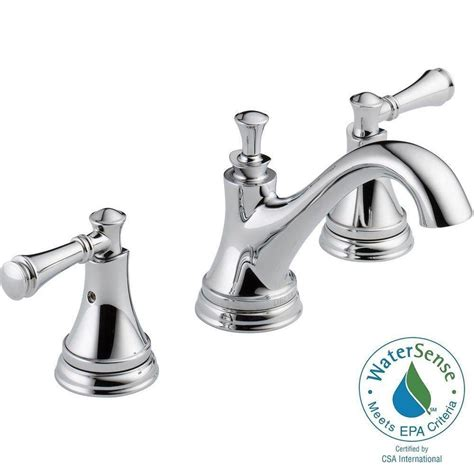 delta 3 piece bathroom faucet