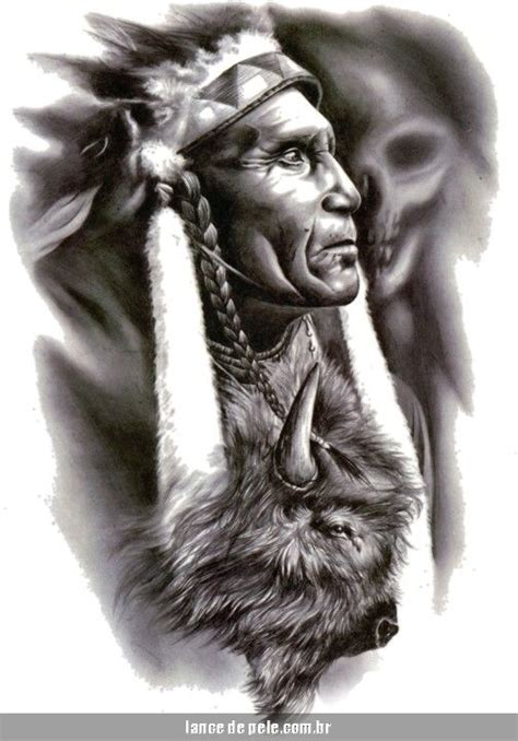 apache tattoo designs 7738 apache indian warrior american buffalo
