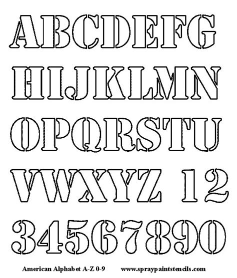 printable alphabet set alphabet letters to cut out alphabet stencil free