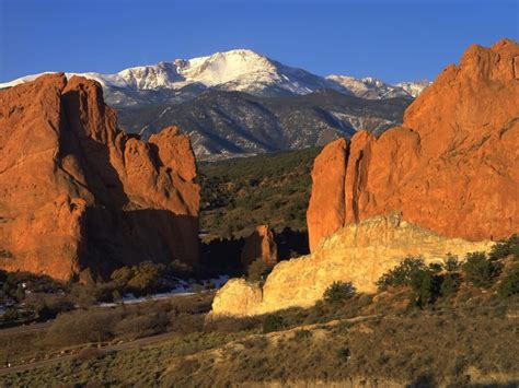 Garden Of The Gods Or Pikes Peak Henning Hometown Series Me