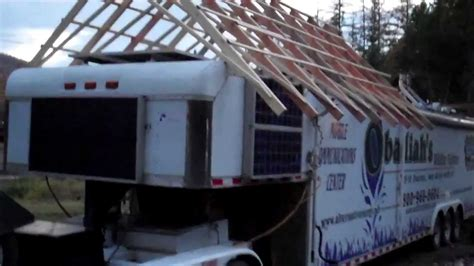 lite metal roof deck 2 rv gable roof system wildfire communications center