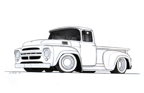 Chevy Truck Drawings the gallery for gt classic chevy truck drawings